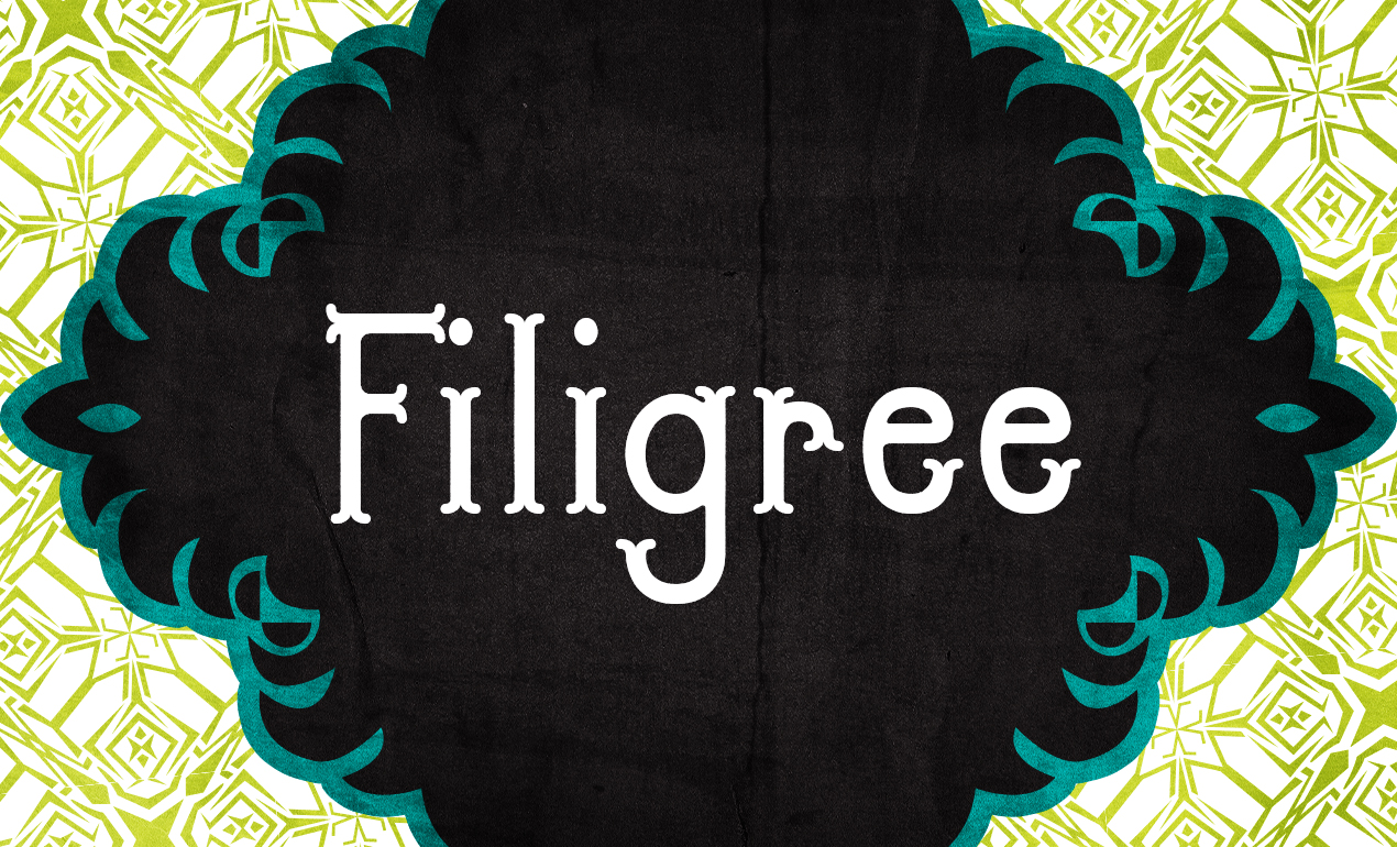 Filigree Whimsical Font by Go Media's Arsenal