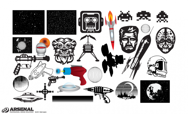 Outer Space Vector Pack