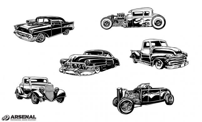 Set 22 Cars Previews All