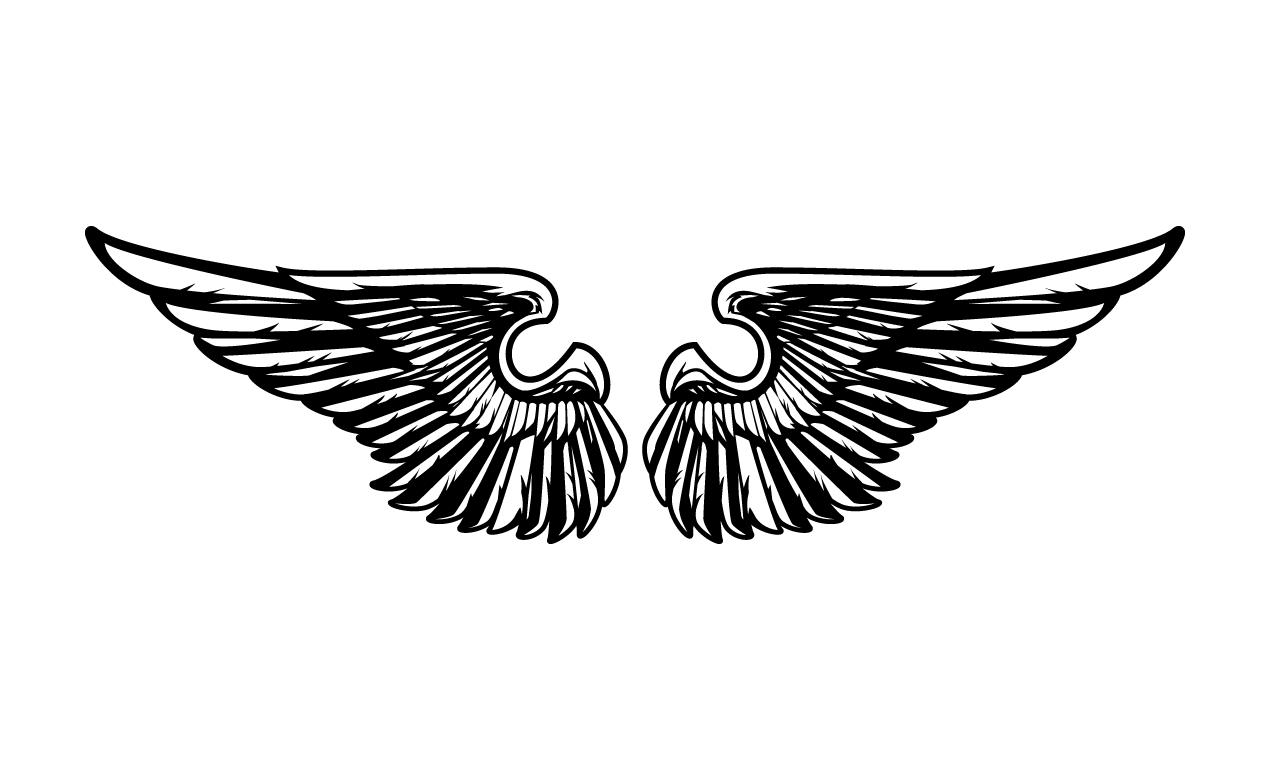 Wing Motorcycle Wheel Cake