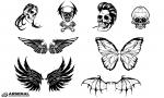 Skull & Wing Vector Pack by Go Media's Arsenal