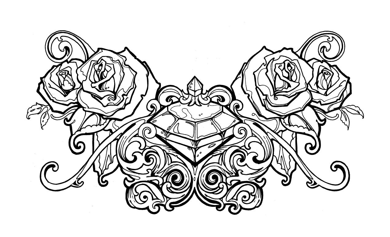 Adobe Illustrator Tattoo Design Pack – Tattoo Template