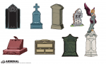 Tombstone Vector Pack