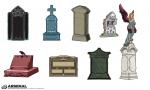 Tombstone Vector Pack