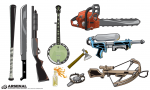 Weapons Vector Pack by Go Media's Arsenal