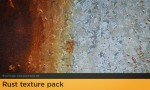 Adobe Photoshop Texture  Texture Collection 01 Rust Pack 01 Hero Shot