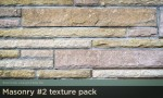 Adobe Photoshop Texture  Texture Collection 03 Masonry 02 Pack 01 Hero Shot