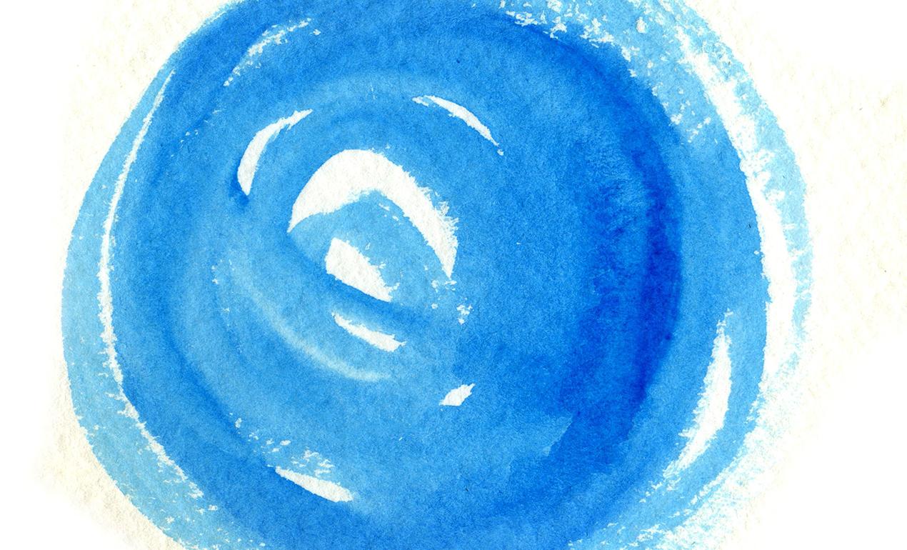 Circular Watercolor Washes Texture Pack