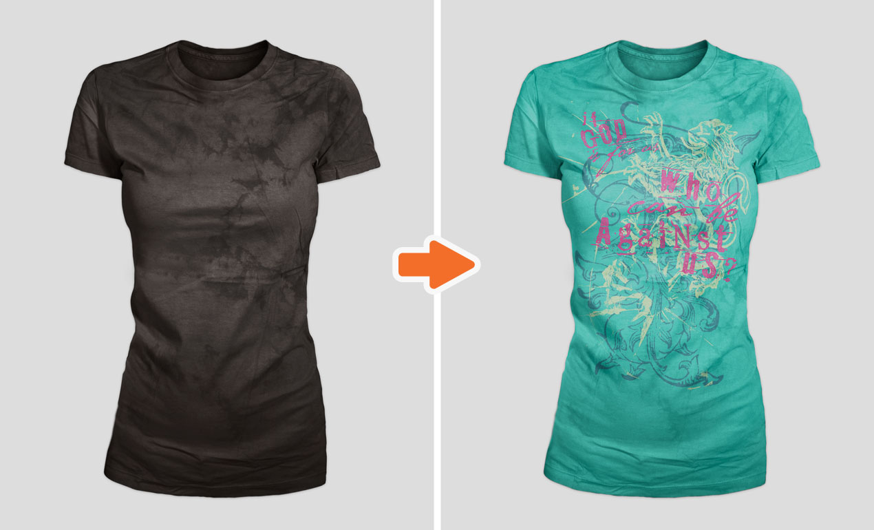 Shirt design in photoshop -  Adobe Photoshop Template Mens Distressed7
