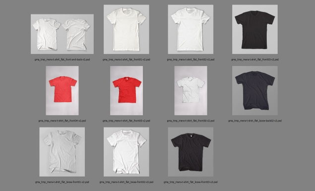 Photoshop mens t shirt flat templates pack adobe photoshop template mens tshirtflat all maxwellsz
