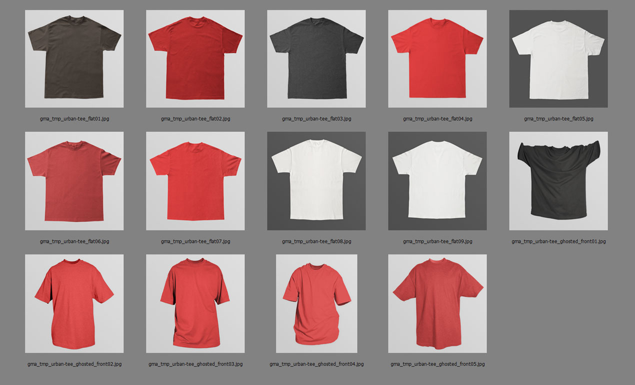 Shirt design on photoshop
