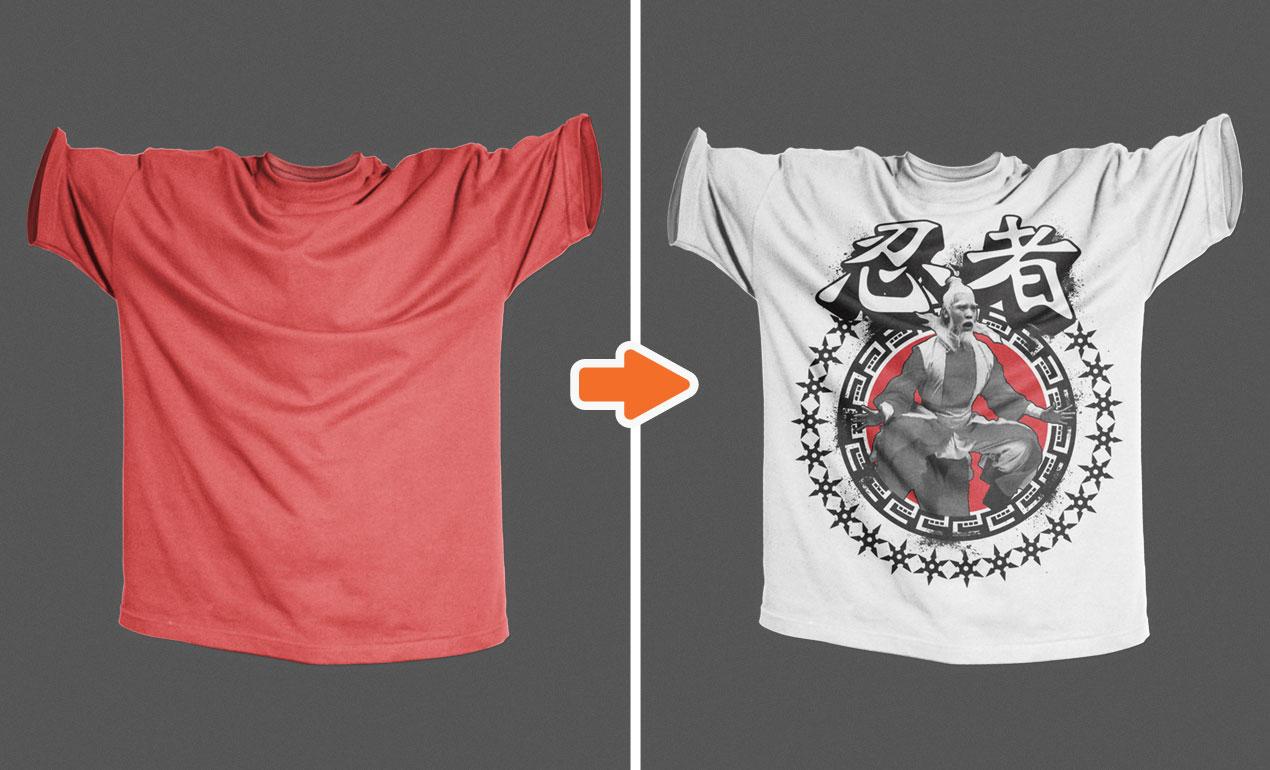 photoshop baggy urban shirt mockup templates pack. Black Bedroom Furniture Sets. Home Design Ideas
