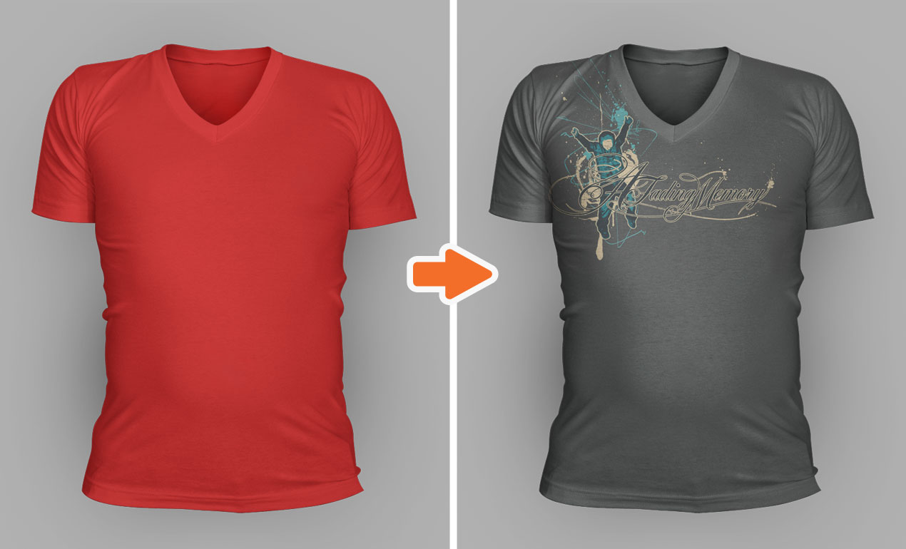 t shirt photoshop templates