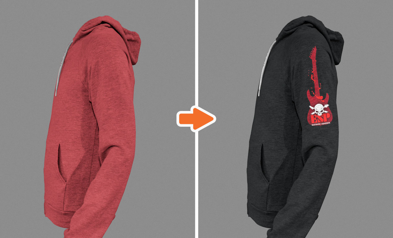 Template hoodie template and shirt design template photoshop - Adobe Photoshop Template Zipper Hoodies Basic1