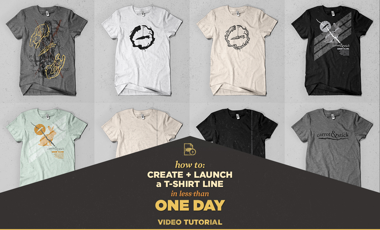 launch a t-shirt line