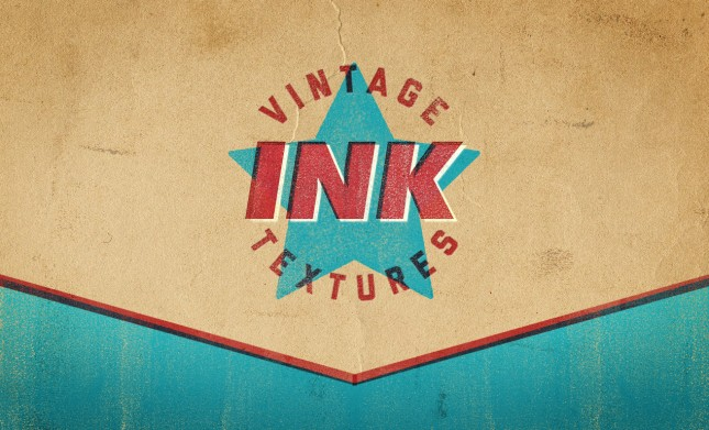 Vintage Letterpress Ink Texture Pack by Go Media's Arsenal