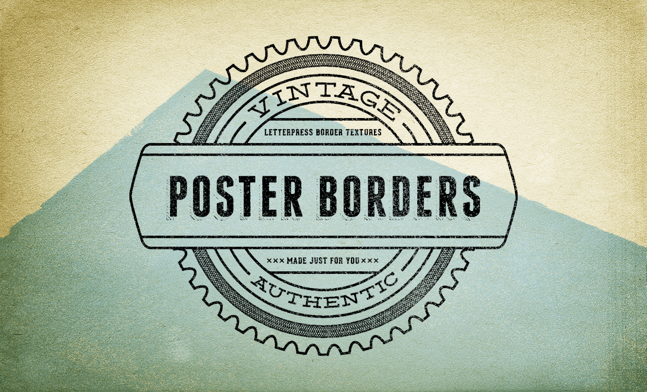 Vintage poster borders texture pack by go medias arsenal adobe photoshop texture vintage poster borders arsenal v3 main preview baditri Images