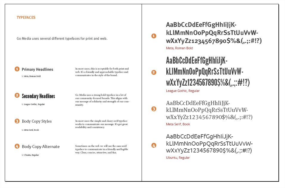 Create Your Own Brand Bible for your Business - Adobe InDesign Template -  Go Media™ Arsenal
