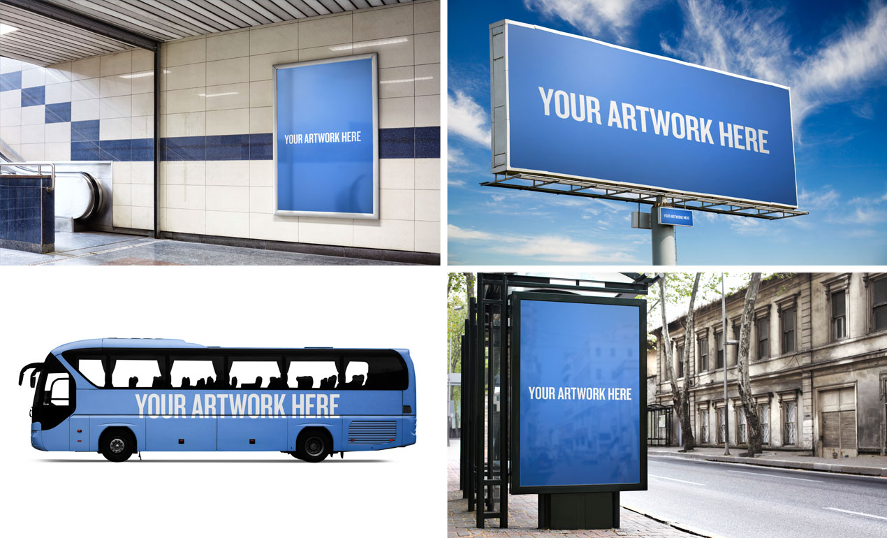 advertising mockup templates pack by go media city advertising mockup templates pack by go media