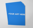 Adobe Photoshop Template Rectangular Card Stack