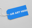 Adobe Photoshop Template Rectangular Tag