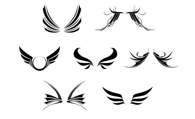 Wings Vector Pack for Adobe Illustrator