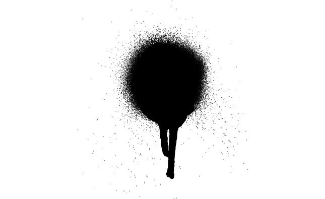Adobe Illustrator Spray Paint Vector Art