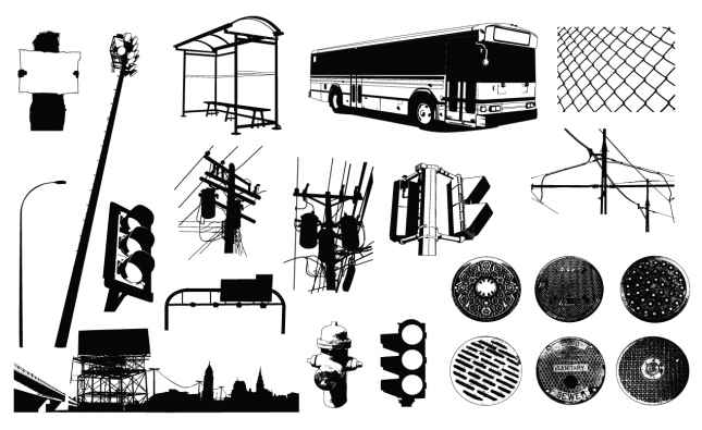 Urban Elements Vector Pack