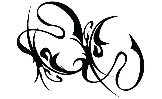 Hooladanders And Flourishes Vector Pack