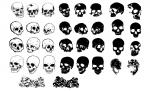 Skulls Vector Pack for Adobe Illustrator