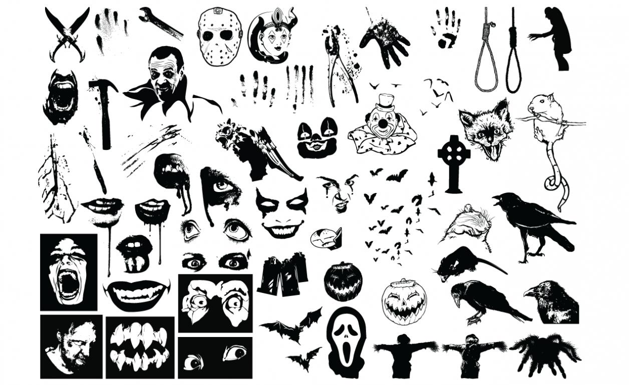Horror Vector Pack