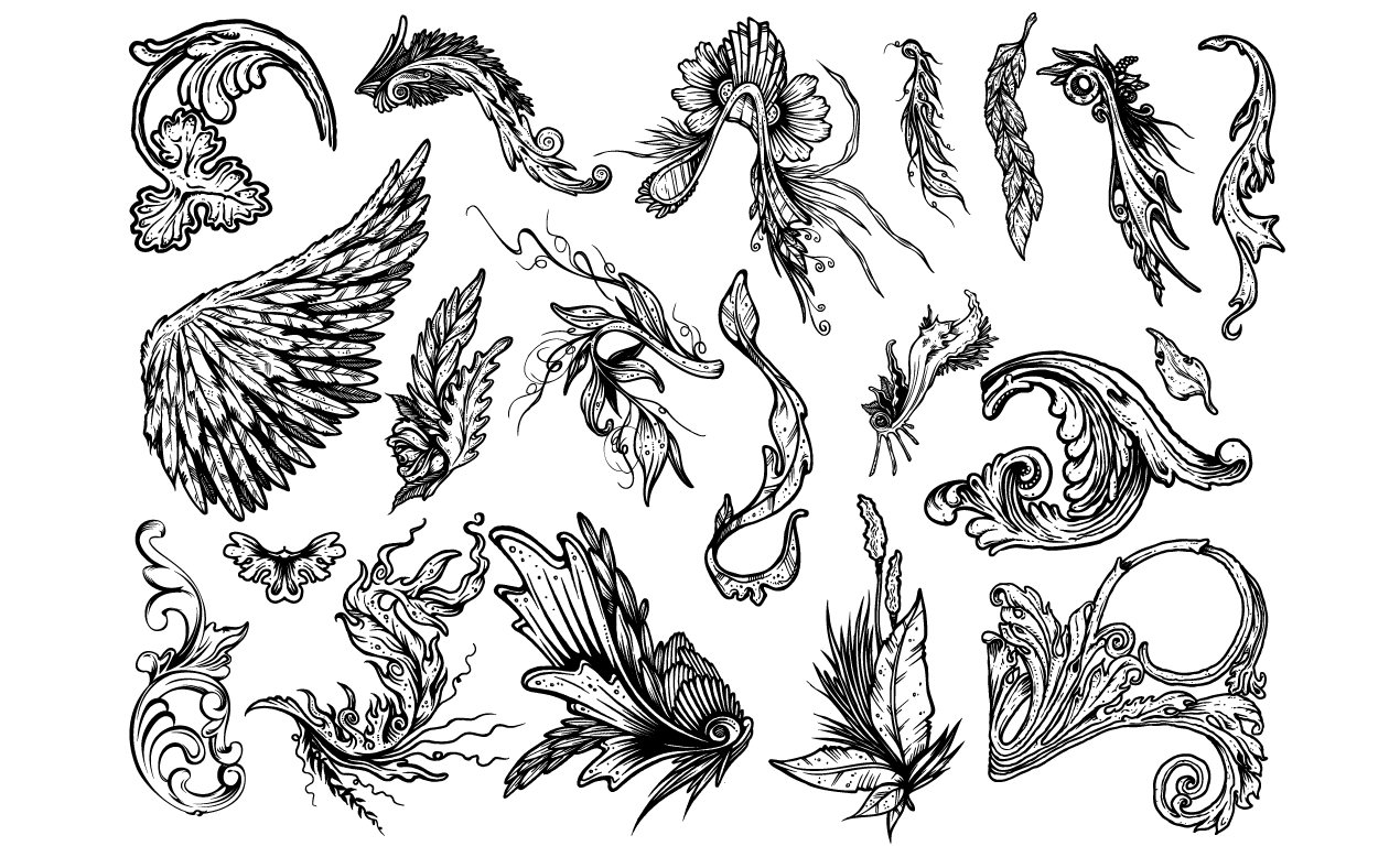 ornate vector pack for adobe illustrator rh arsenal gomedia us ornate vector elements ornate vector pattern