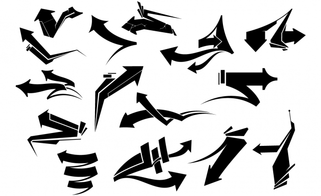Adobe Illustrator Arrows