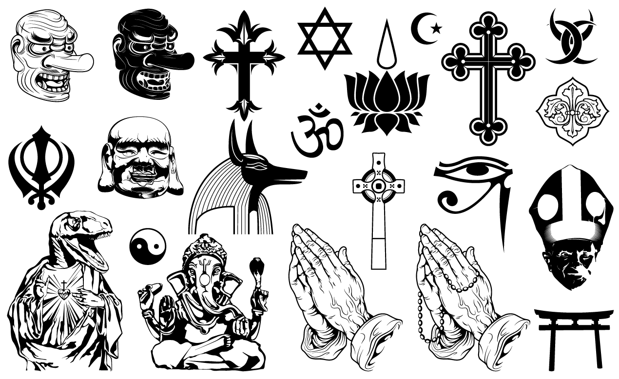 religious vector pack for adobe illustrator rh arsenal gomedia us all vectors in physics all vector equations