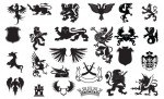 Heraldry Vector Pack