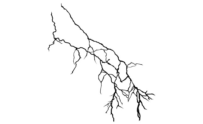 how to draw realistic lightning
