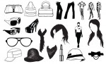 Fashion Vector Pack for Adobe Illustrator