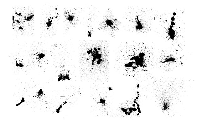 Ink Splatters Vector Pack for Adobe Illustrator