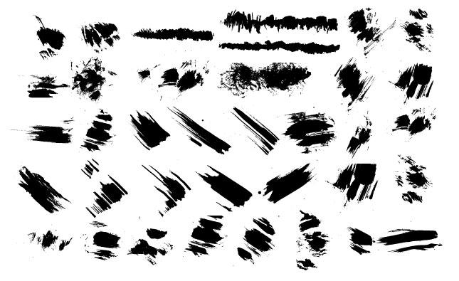 Smudges Vector Pack for Adobe Illustrator