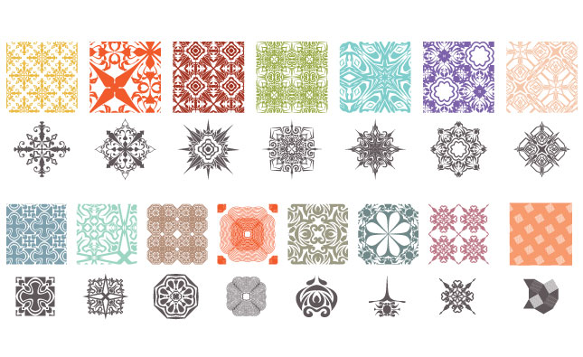 Propaganda Wallpaper Patterns Vector Pack
