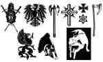 Medieval Crest & Armor Vector Pack