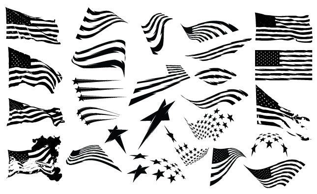 Adobe Illustrator Vector Set 19 Patriot Preview All
