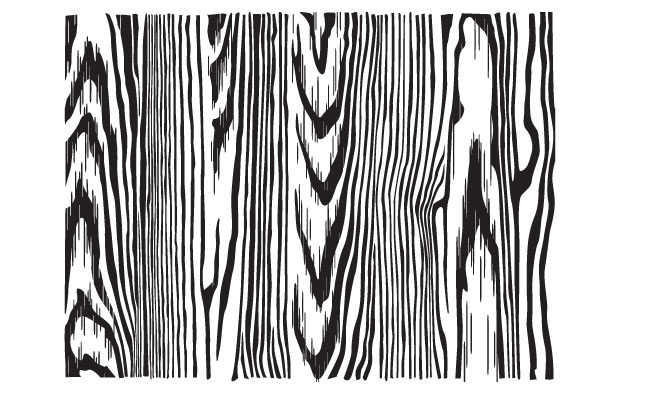 Line Art Wood Grain : Adobe illustrator wood texture vector pack