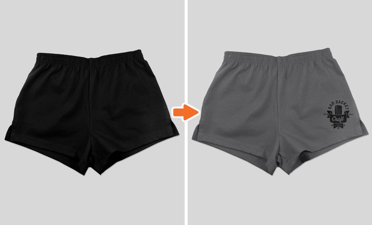 d1c4d762307b4 ... Jersey Shorts Preview Photoshop Men's Shorts Mockup Templates Pack