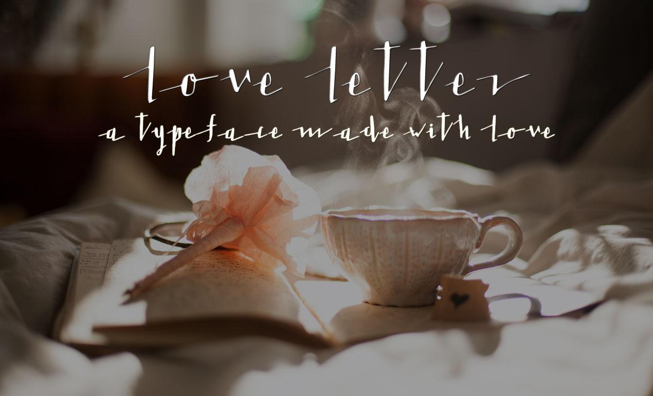 Love Letter Script Font
