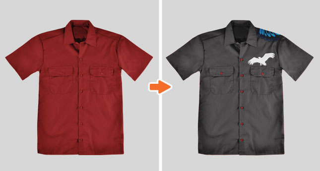 Mechanic Shirt Mockup Templates Pack