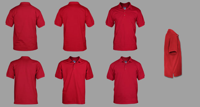 5db75d74 Photoshop Men's Polo Mockup Templates Pack
