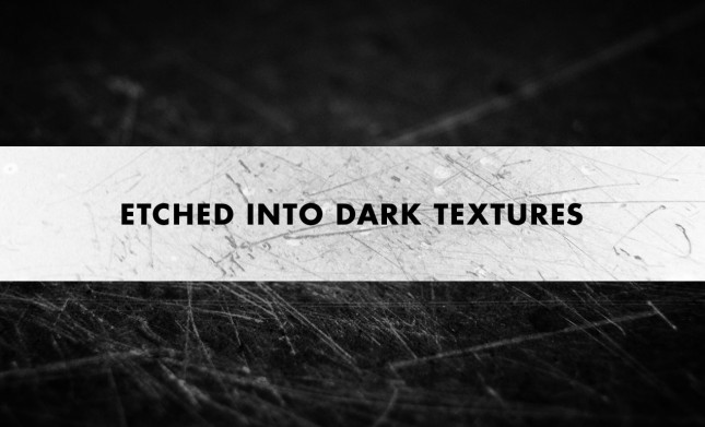 Etched Into Dark Texture Pack - Scratched Surface Textures