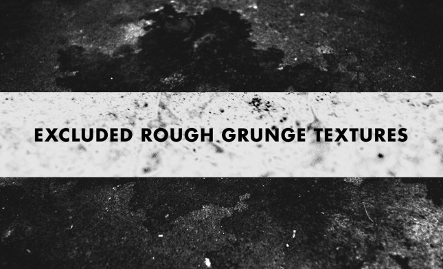 Excluded Rough Grunge Texture Pack by Go Media's Arsenal