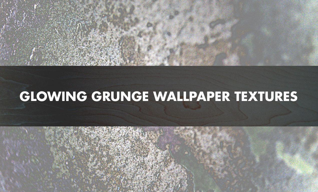 Glowing Grunge Wallpaper Texture